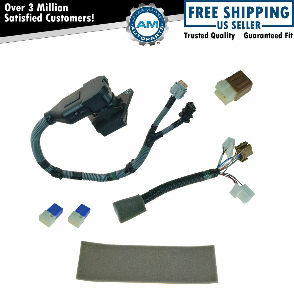 oem 999t8br020 complete 7 pin plug  u0026 play tow harness kit