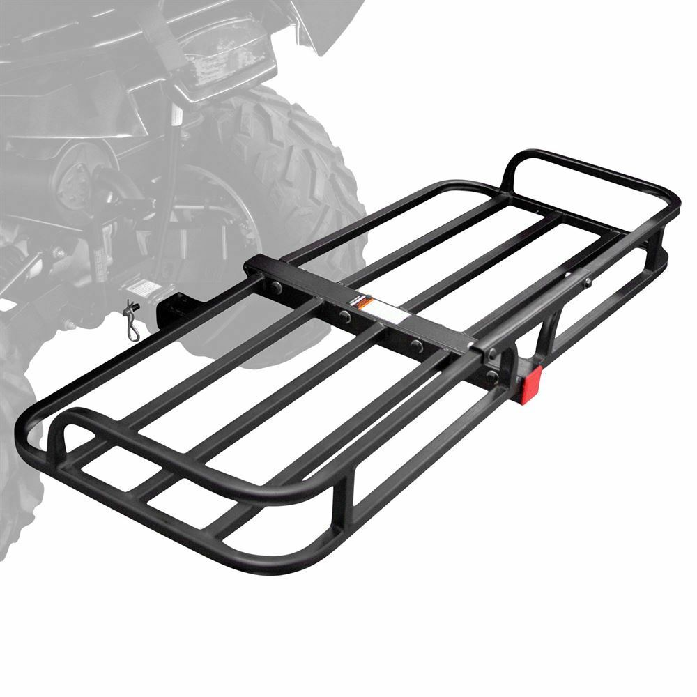 "48"" Steel ATV Hitch-Mounted Cargo Basket 150 lb capacity ..."