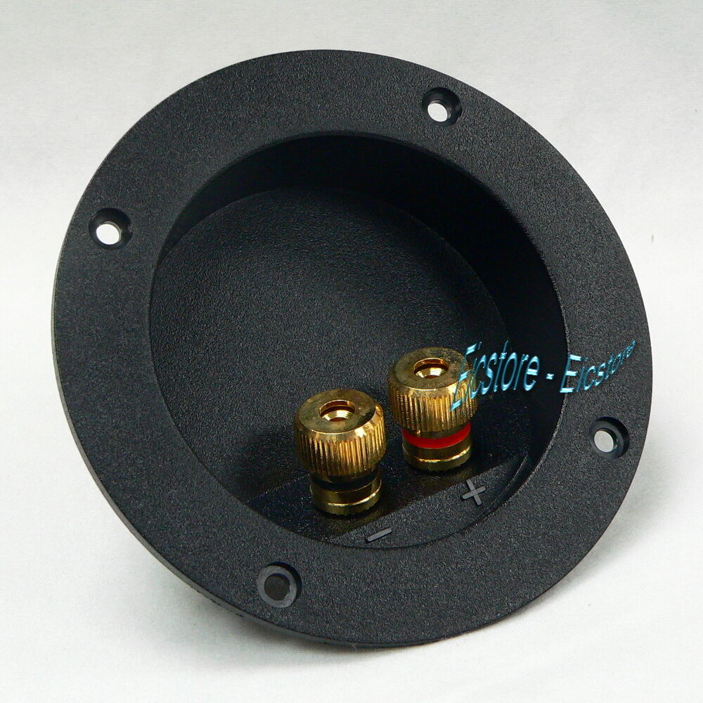Audio Speaker Round Terminal Binding Posts Cup Connector
