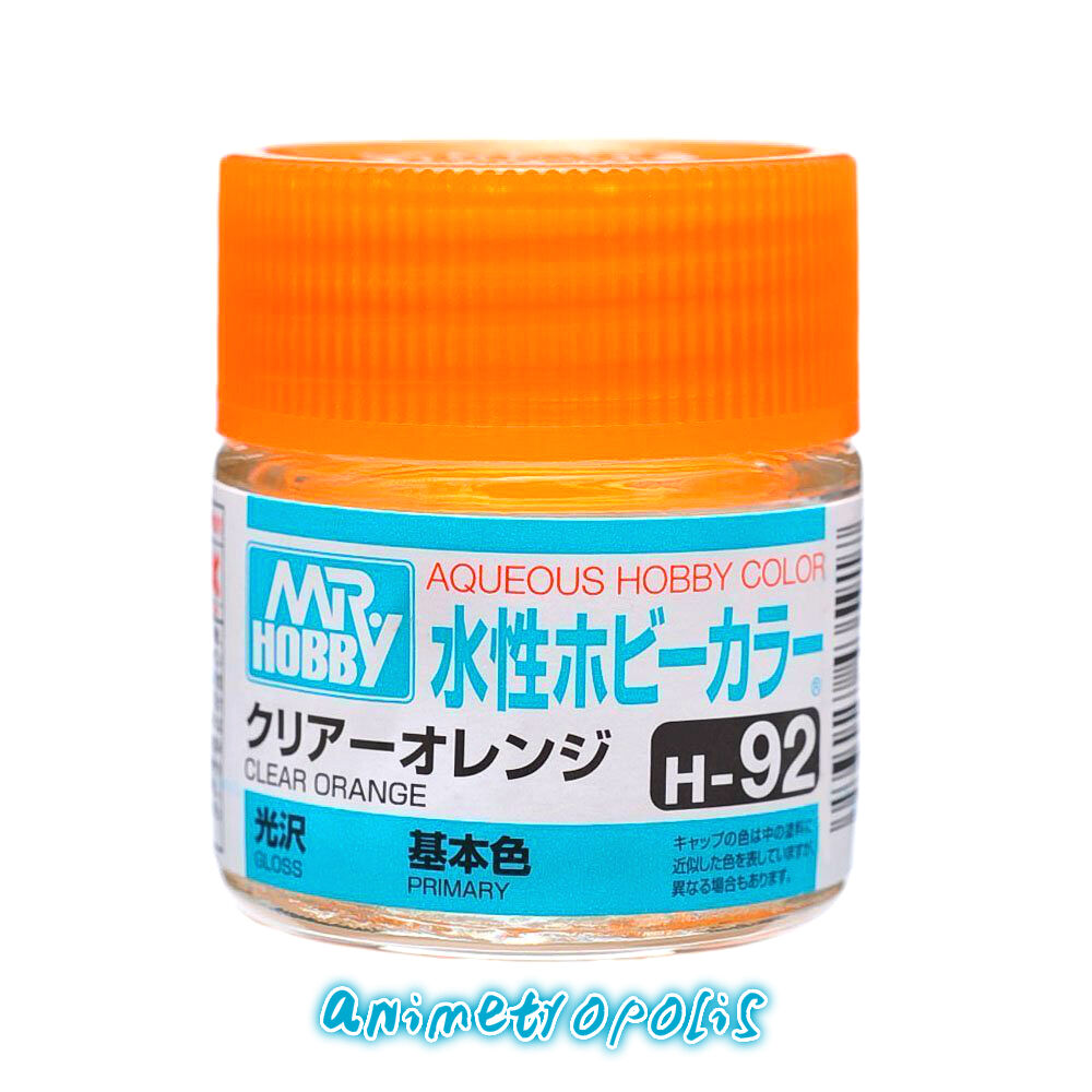 Mr hobby gunze aqueous color acrylic h92 clear orange old model mr hobby gunze aqueous color acrylic h92 clear orange old model kit paint 10ml ebay geenschuldenfo Image collections
