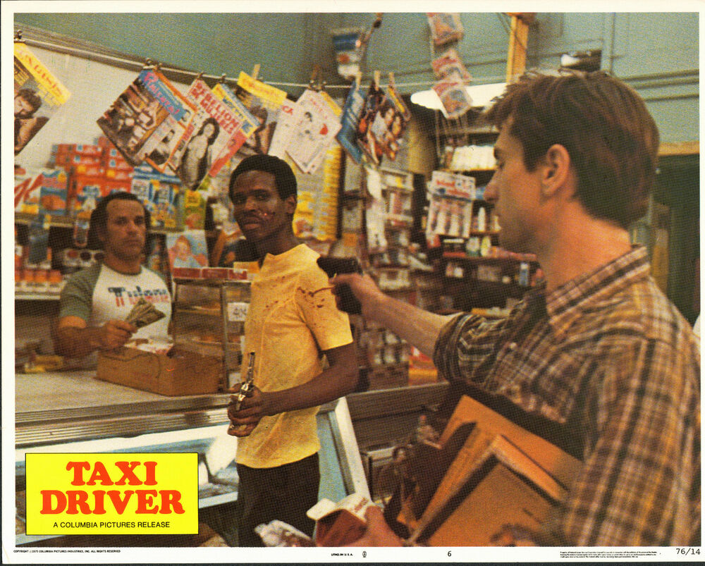 a summary of the 1976 movie taxi driver Taxi driver arrived at a time (1976) when new york city was at its sleaziest and grittiest it was in the middle of a crime wave it was in the middle of a recession it was in the middle of a garbage strike—yum, hot trash juice cooking in the mid-atlantic summer sun times square was a festering sore full of porno theaters, porno shops, and (porno.