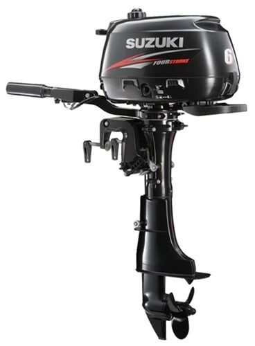 6 hp suzuki df6s outboard motor tiller short shaft for Yamaha 9 9 hp outboard motor manual