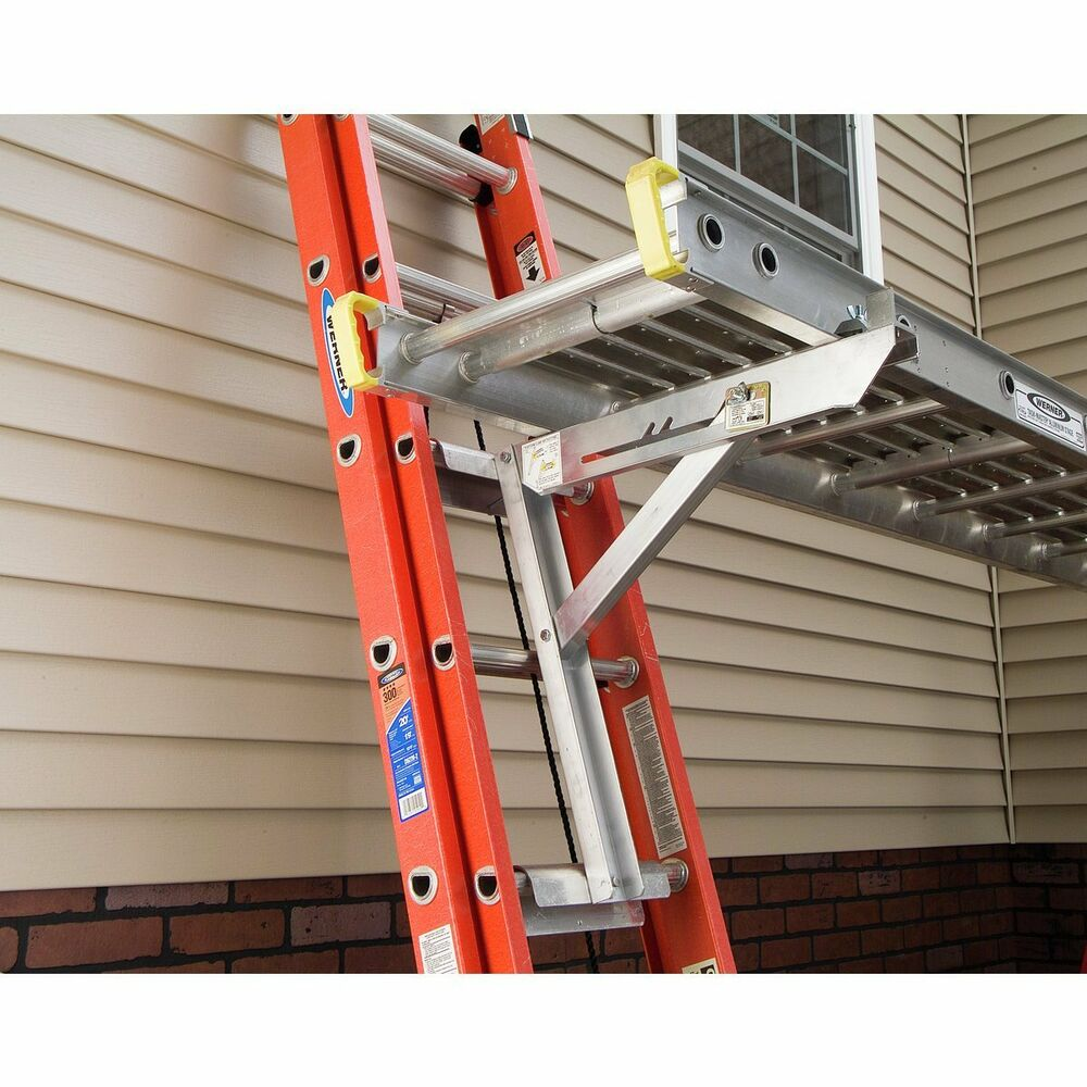Werner Ac10 20 02 Aluminum Long Body Ladder Jacks Set Of
