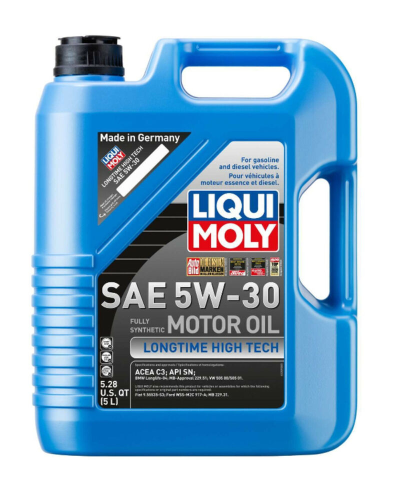 5liter 5w30 fully synthetic liqui moly engine motor oil. Black Bedroom Furniture Sets. Home Design Ideas