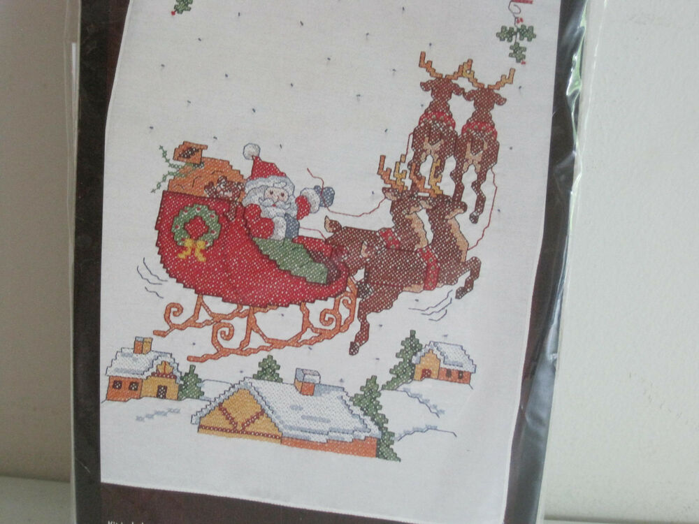Stamped Embroidery Craft Kits
