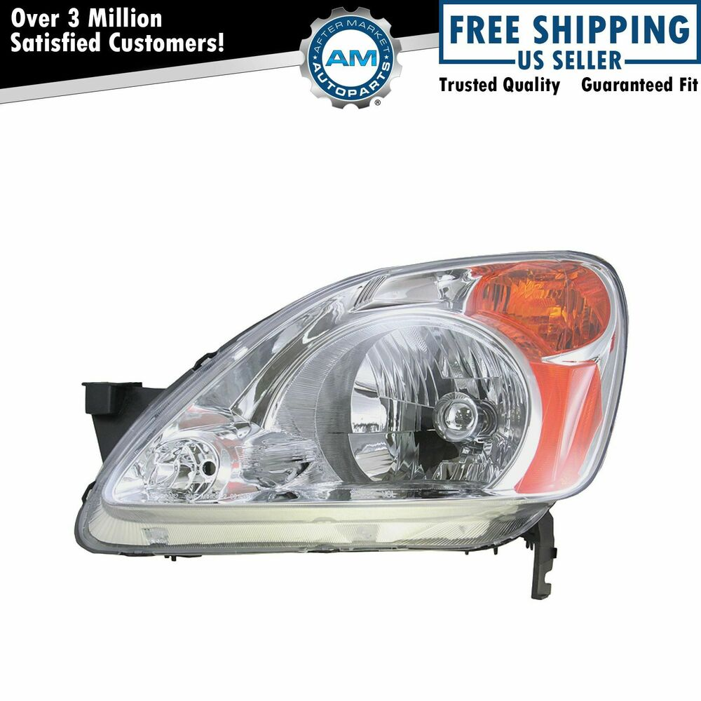 headlight headlamp driver side left lh new for 02 04 honda. Black Bedroom Furniture Sets. Home Design Ideas