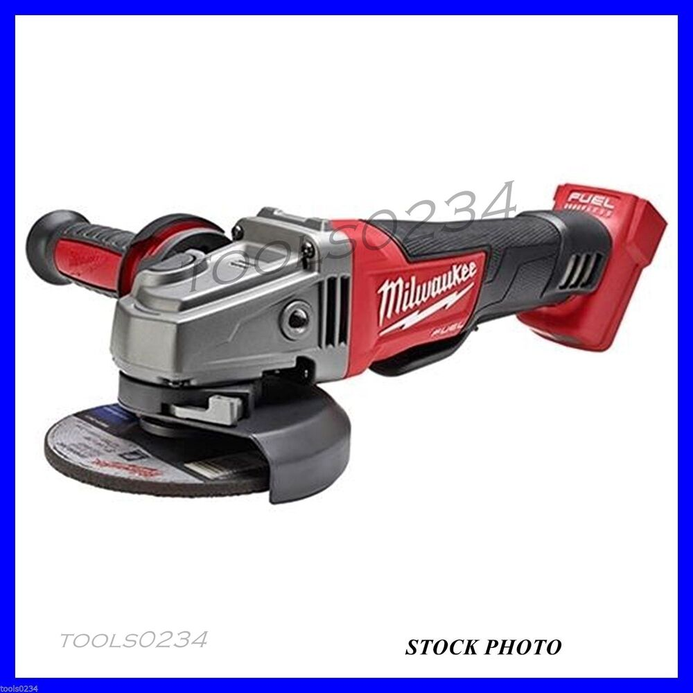 Milwaukee 4 1 2 Grinder ~ Milwaukee m fuel  quot grinder paddle