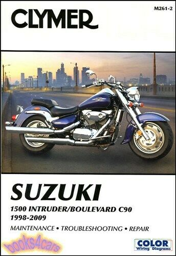 Shop Manual Intruder 1500 Suzuki Service Repair Book