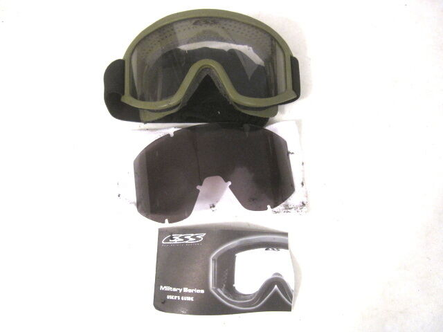 Us Army Usmc Issued Ess Land Ops Goggles W Fabric Cover