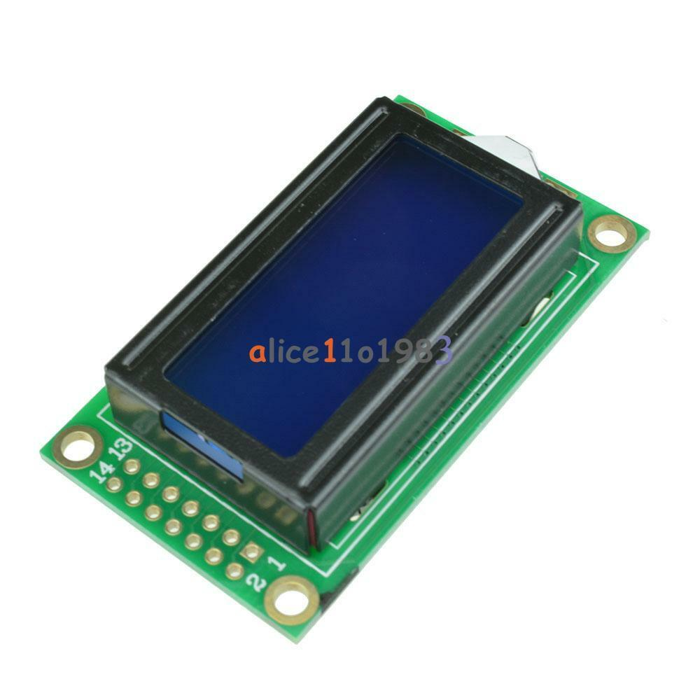 Blue lcd character display module v lcm for