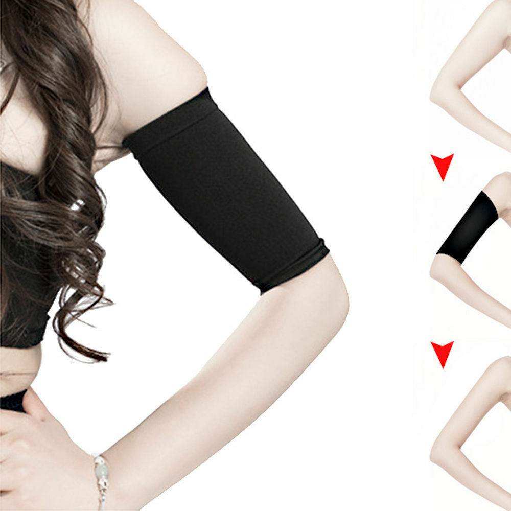 2X Ladies Slimming Weight Loss Arm Shaper Cellulite Fat ...