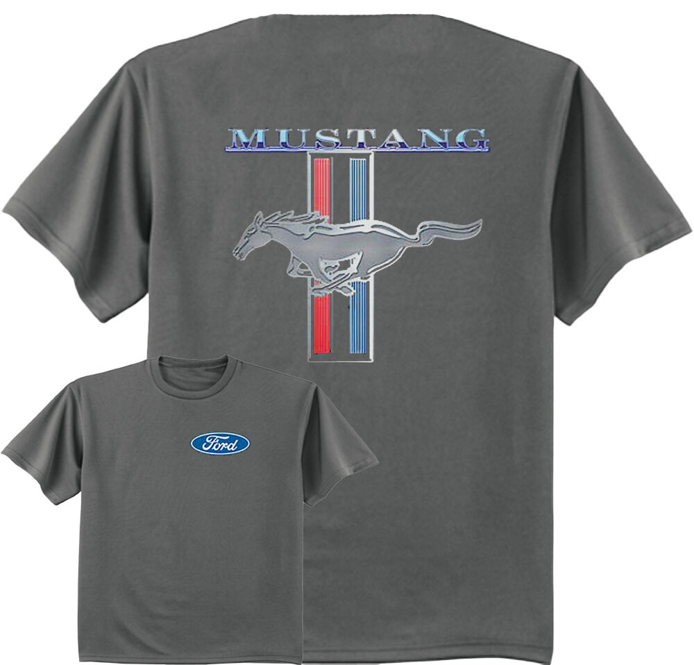 ford mustang t shirt front and back design men 39 s tee shirt. Black Bedroom Furniture Sets. Home Design Ideas