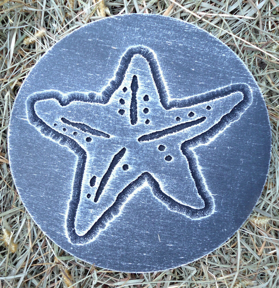 starfish plaque plastic mold plaster concrete mould ebay. Black Bedroom Furniture Sets. Home Design Ideas