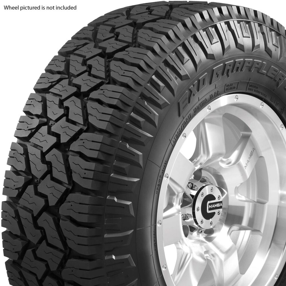 4 new 285 55r20 nitto exo grappler tires 285 55 20 10 ply. Black Bedroom Furniture Sets. Home Design Ideas