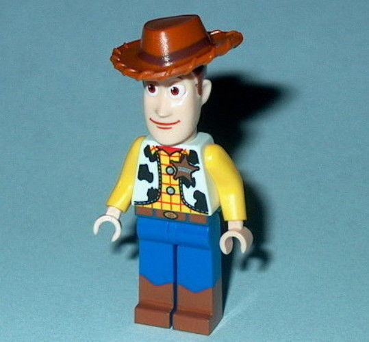 Toy story lego woody new 7594 authentic lego disney ebay - Lego toys story ...