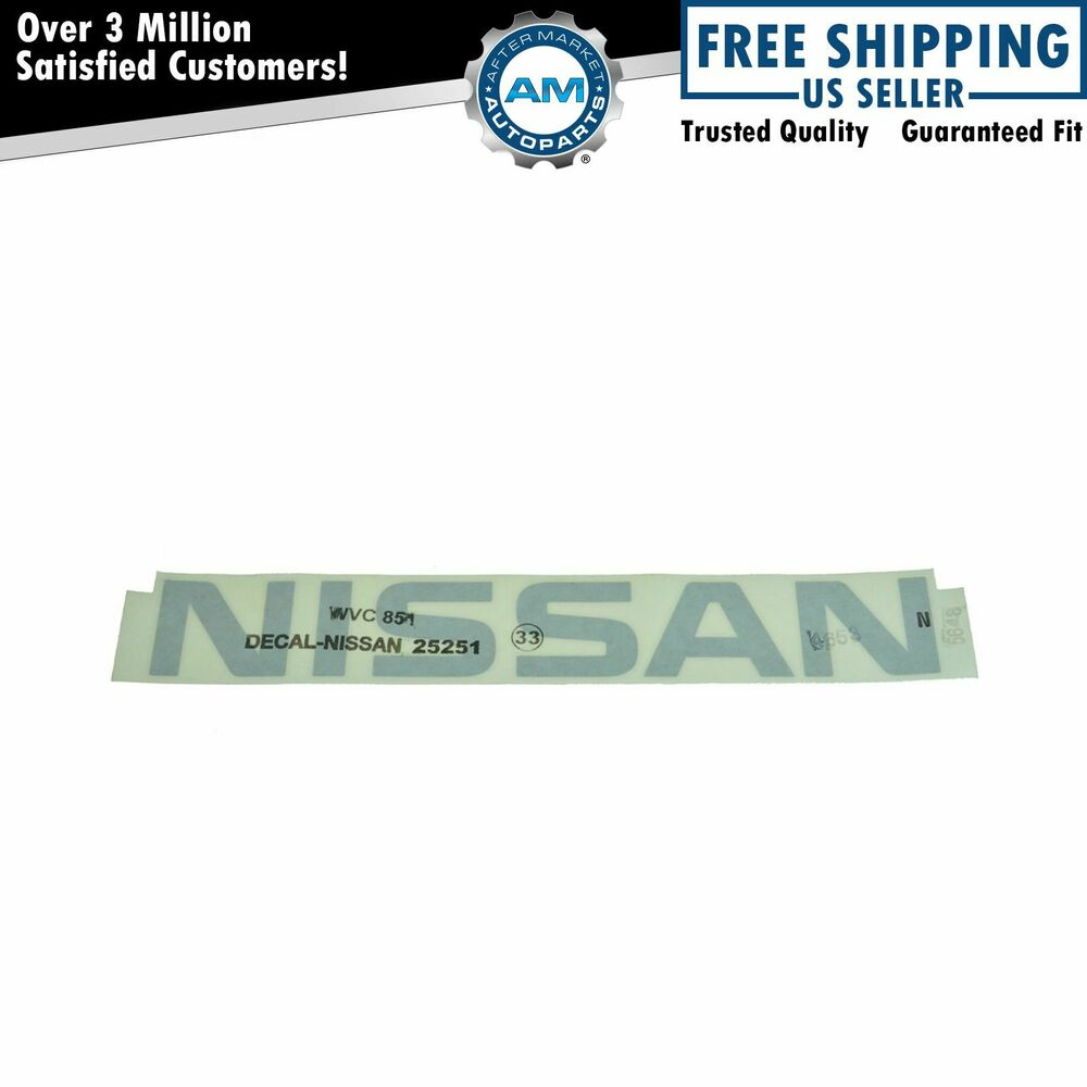 Oem 73164ea00a Roof Rack Air Dam Decal Emblem Logo For 05