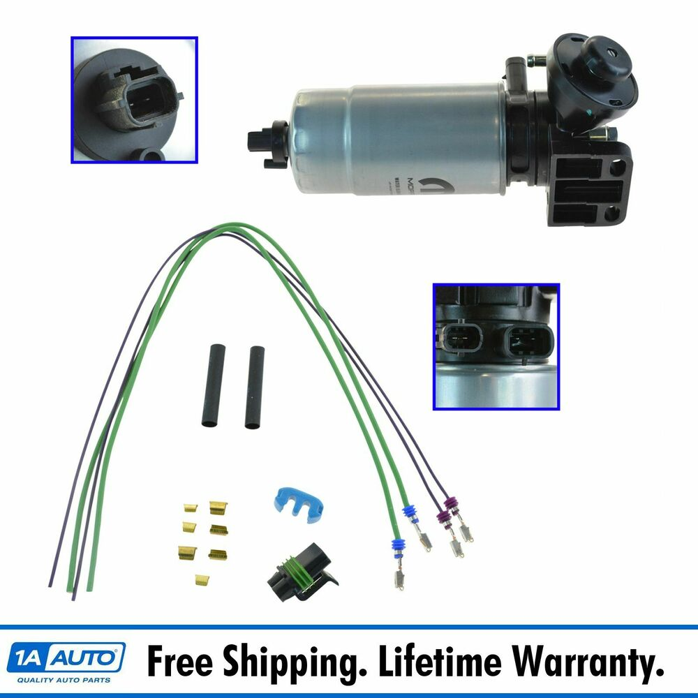 Oem Mopar Oil Filter Water Separator With Wire Harness Kit