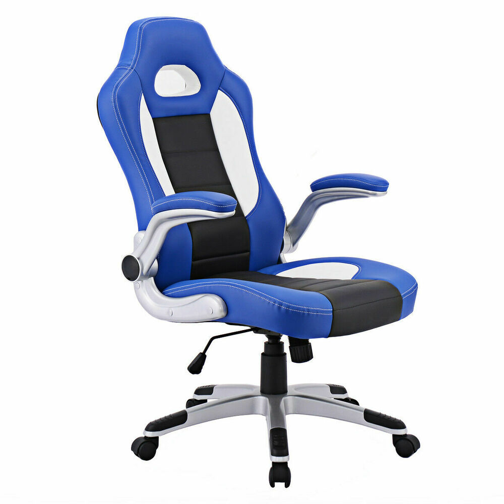 Executive Racing Style Bucket Seat Chair 2016 Office Desk Chair | eBay