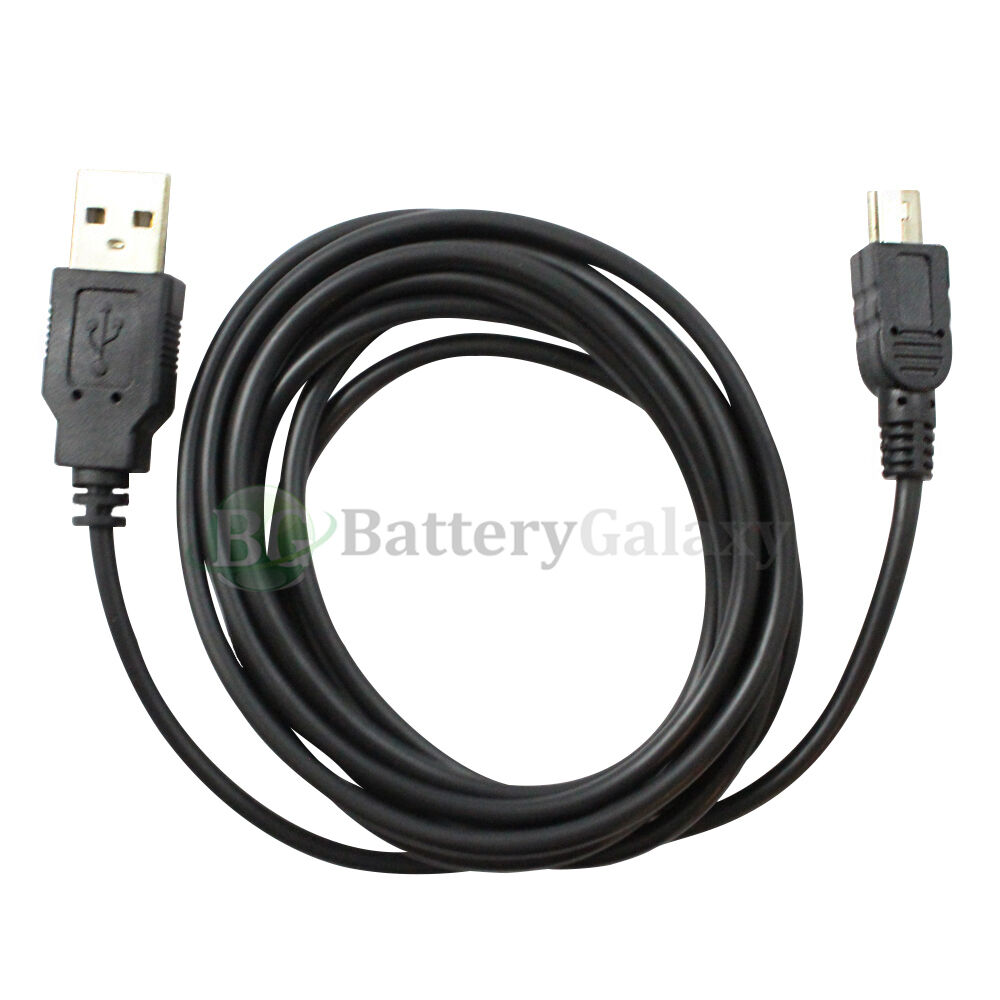 Usb 6ft Data Sync Charger Battery Cable For Sony Digital
