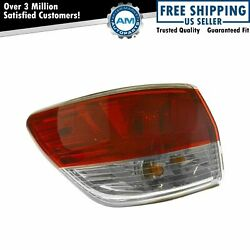 Left Outer Tail Light Driver Side Taillamp For 2013-2016 Nissan Pathfinder