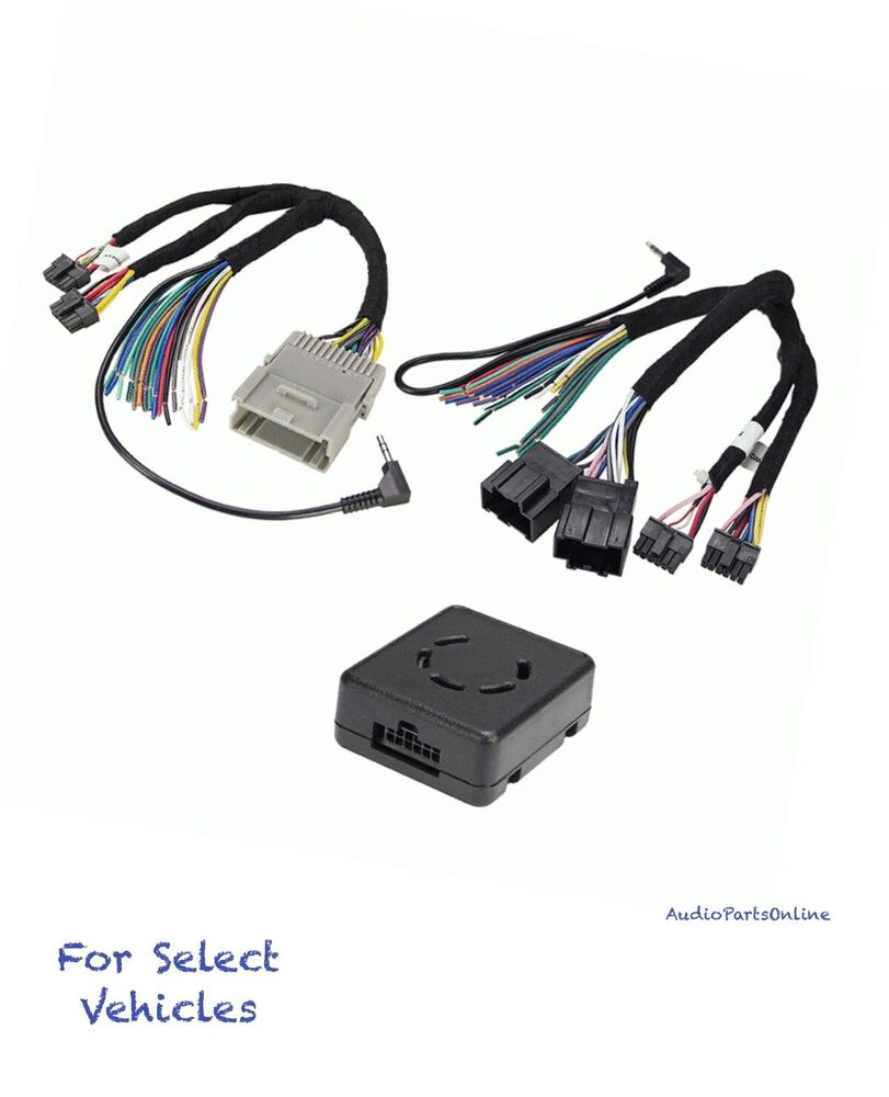 Car Stereo Wiring Harness Adapters Diagrams Kenwood 16 Pin Radio Chimes Amp No Wire Adapter Kit
