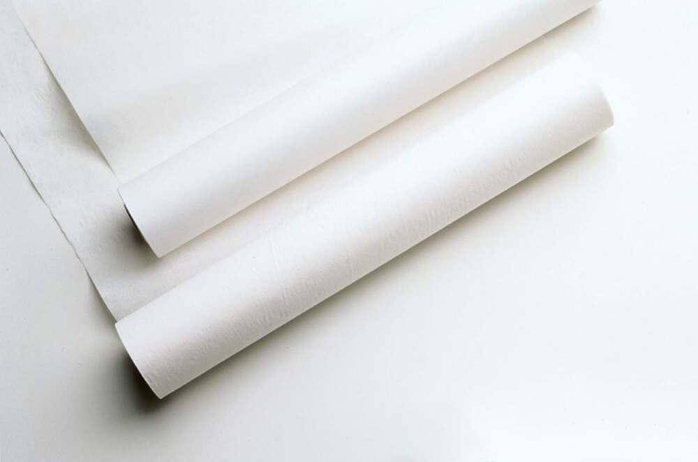 Medichoice exam table paper crepe white 21in x 125ft for 1 case of table paper