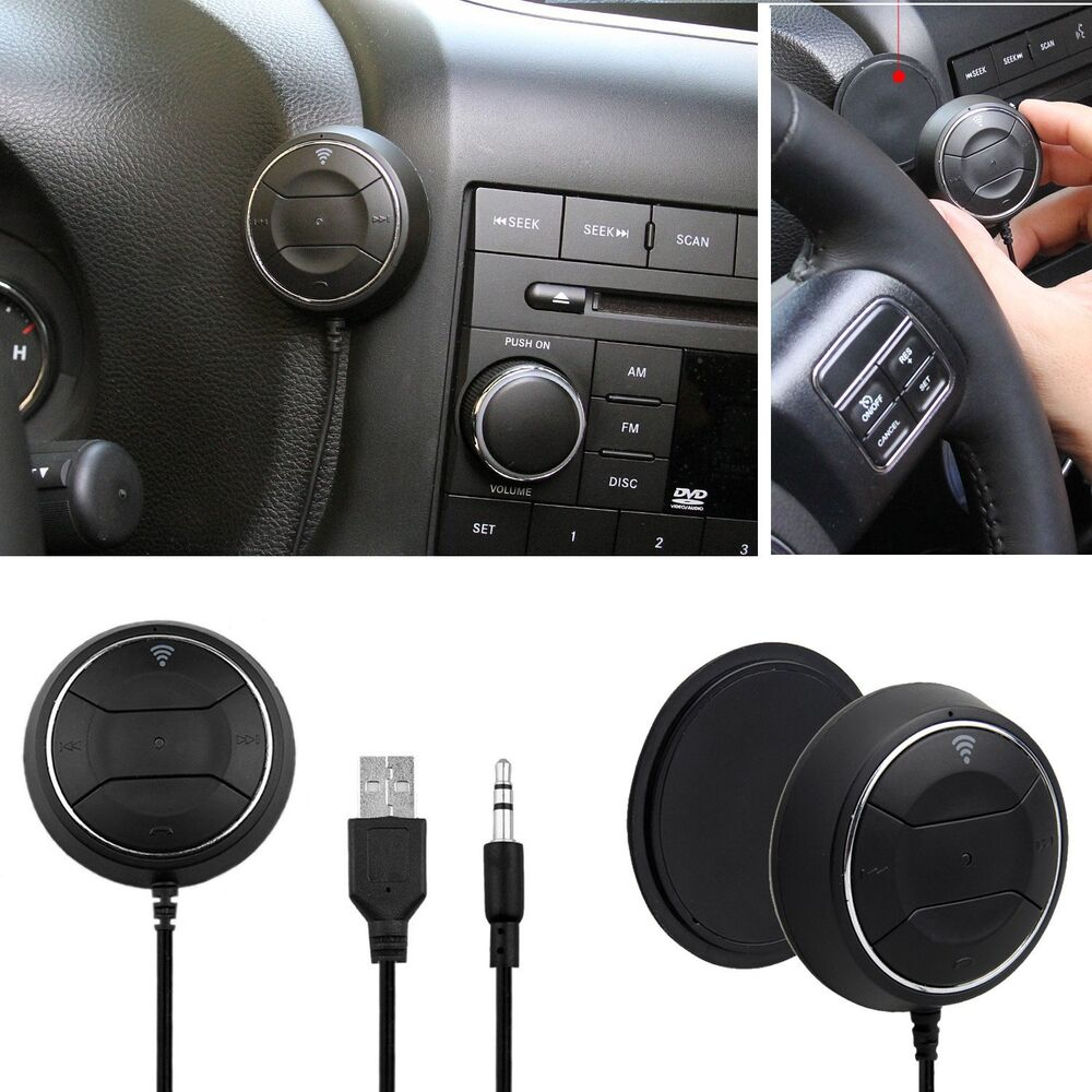 Mini Bluetooth Nfc Receiver Car Kit Wireless Audio Adapter: Bluetooth 4.0 Audio Stereo Receiver 3.5mm NFC Car AUX