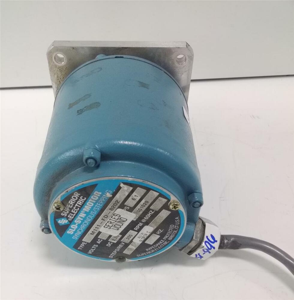 Superior Electric Slo Syn Synchronous Stepping Motor M111 Fd 8202 Ebay