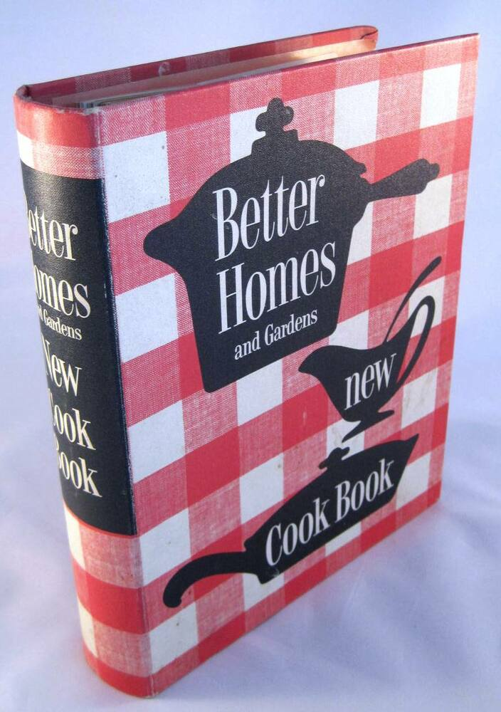 Vintage 1973 better homes and gardens new cookbook 5 ring - Better homes and gardens cookbook 1968 ...