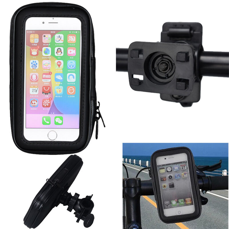 iphone 6 handlebar mount waterproof bag bike motorcycle handlebar mount holder 14979