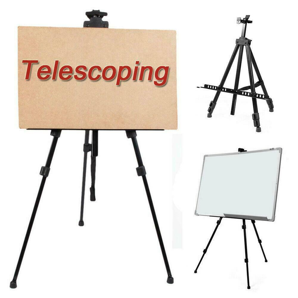Portable Art Exhibition Stands : Adjustable artist aluminium alloy folding painting easel