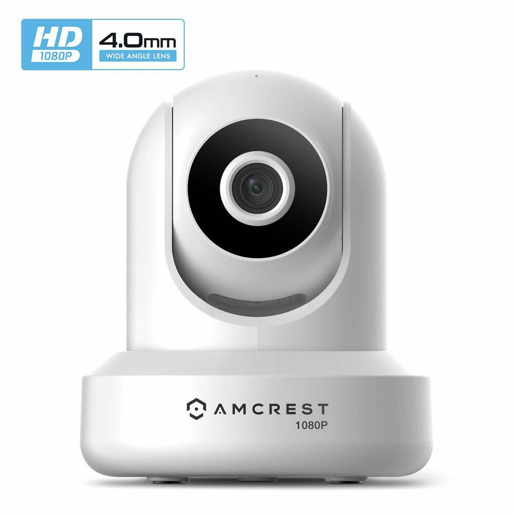 amcrest prohd white 1080p hd wifi wireless ip home network. Black Bedroom Furniture Sets. Home Design Ideas