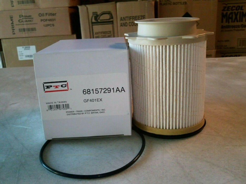 dodge ram 6 7 diesel fuel filter 68157291aa 68065608aa. Black Bedroom Furniture Sets. Home Design Ideas