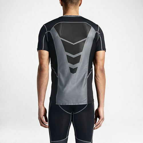 f990d66c Details about Nike sz S Men's Pro HYPERCOOL Dri-Fit Fitted SS Shirt NEW $50  636155 010 Black