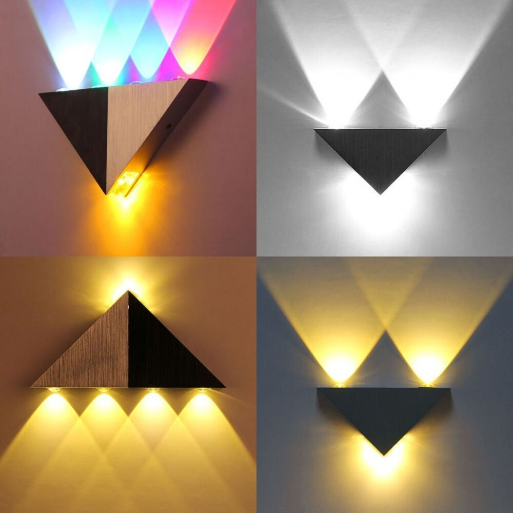 Led Light Fixture Pictures: Modern 3/5W Up Down LED Wall Light Bathroorm Spot Light