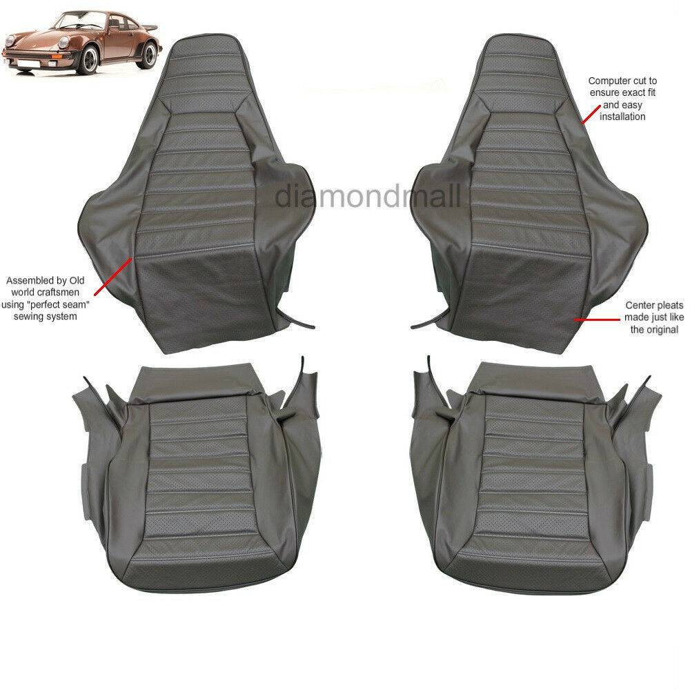 Porsche 911 1974 1984 Leather Seat Covers Replacement Ebay