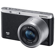 Samsung NX Mini Mirrorless Digital Camera with 9-27mm Lens and Flash