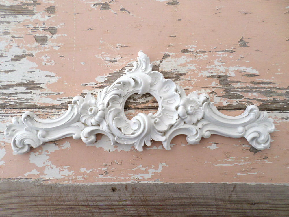 SHABBY n CHIC ARCHITECTURAL FURNITURE APPLIQUES ONLAYS