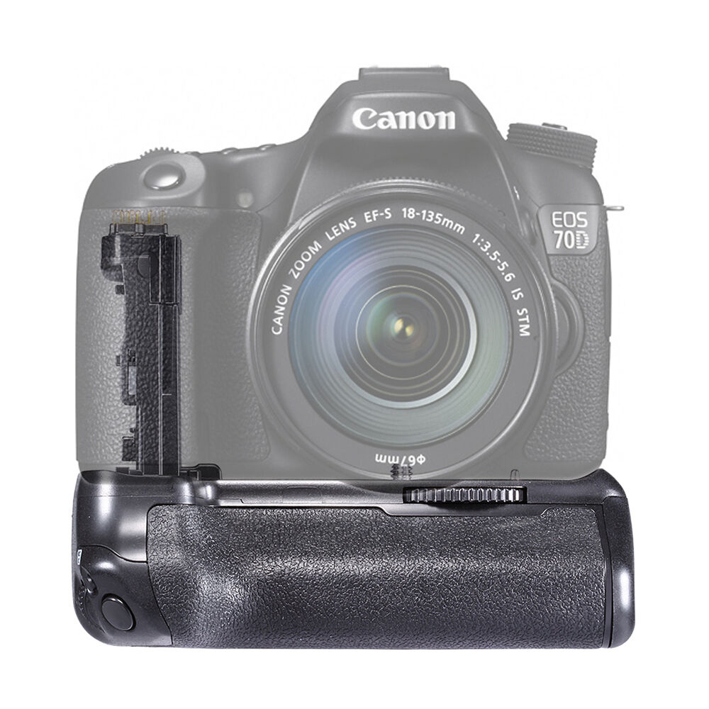 neewer battery grip for canon eos 70d digital slr camera ebay. Black Bedroom Furniture Sets. Home Design Ideas