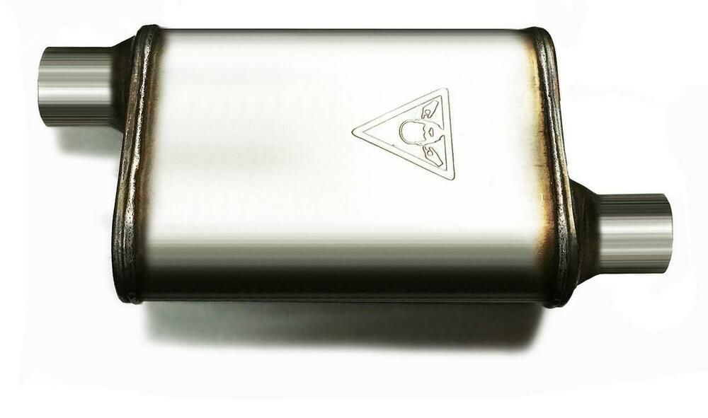 Summit racing muffler