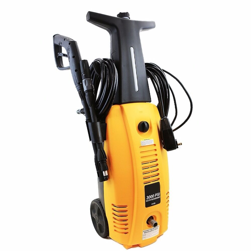 Electric Pressure Washer 3000psi Burst Power High Pressure