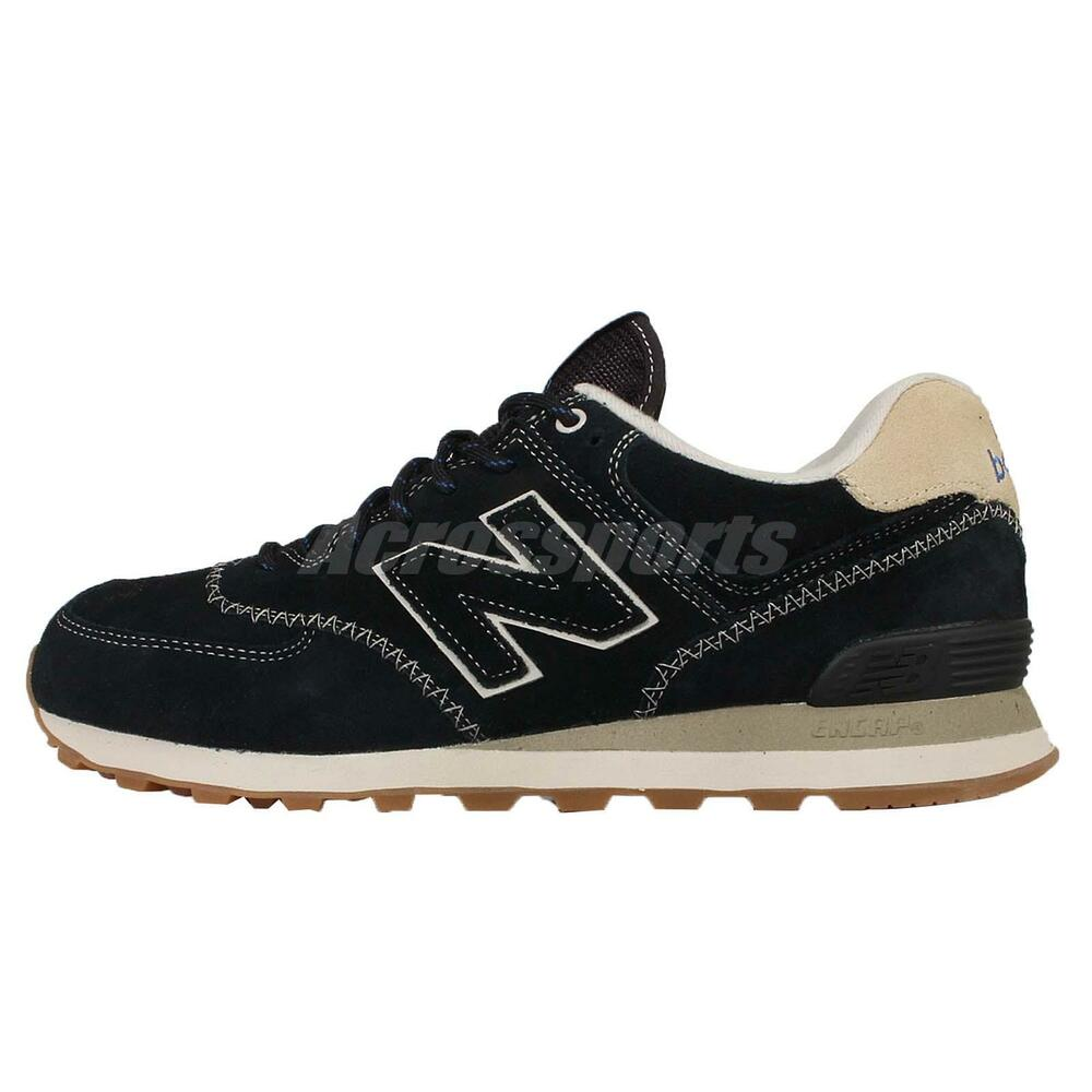New Balance ML574GBD D Black White Mens Retro Running Shoes Sneakers ML574GBDD | eBay