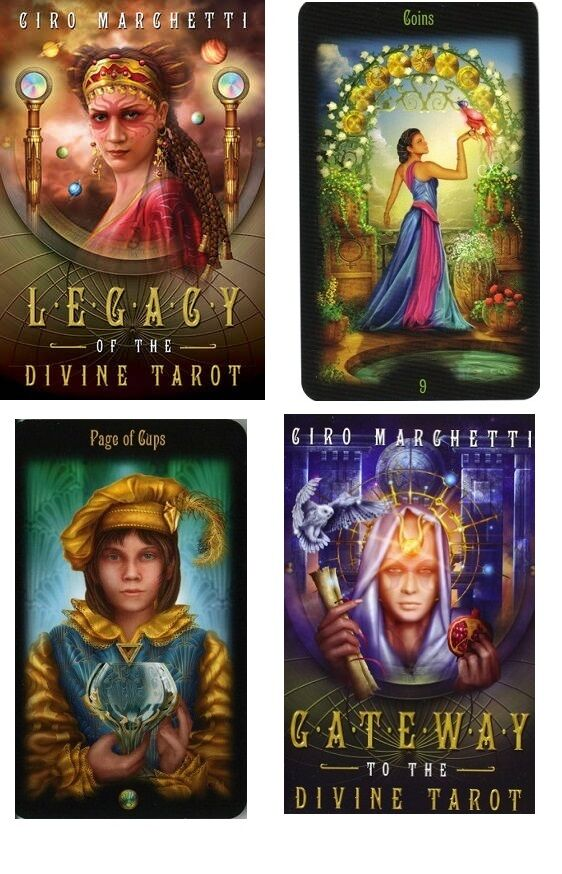 Legacy Of The Divine Tarot Gilded Tarot NEW Sealed Set 78