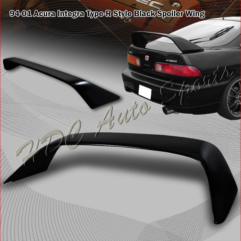 For Acura Integra DC1 2 Door Type-R Style Painted Black