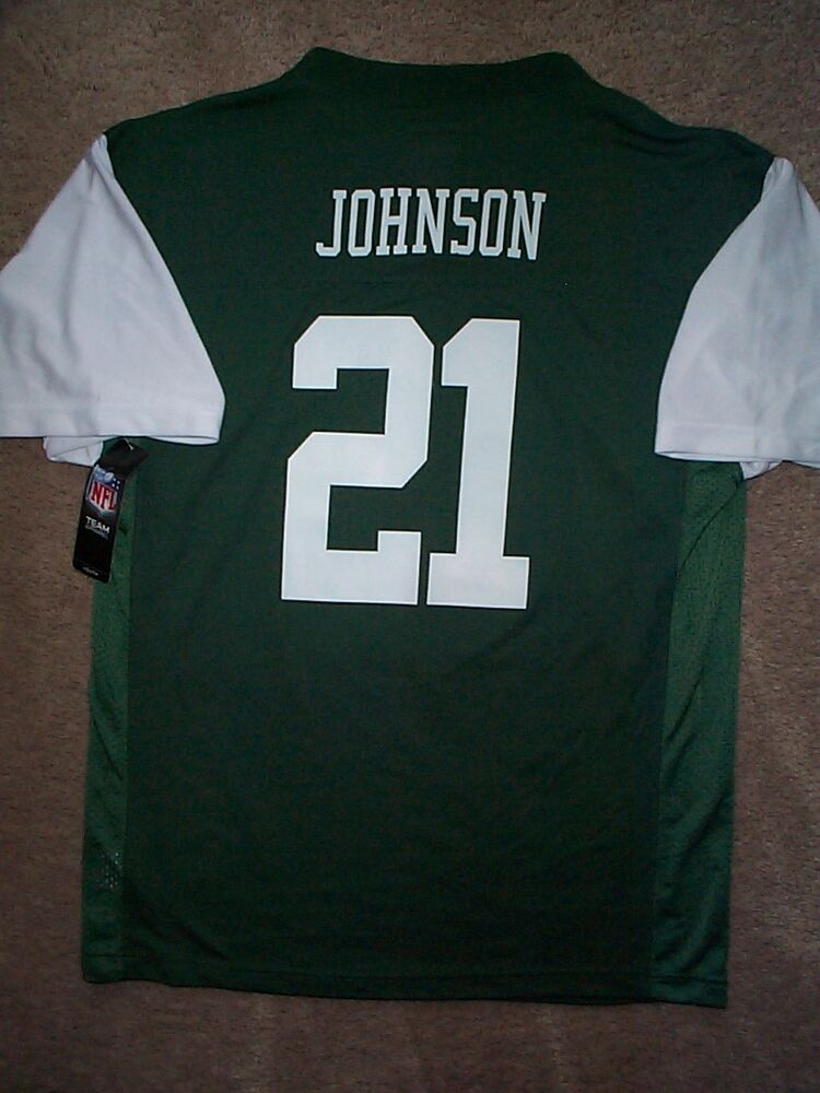 6e12ae42d New York NY Jets CHRIS JOHNSON nfl Jersey YOUTH KIDS BOYS s-small