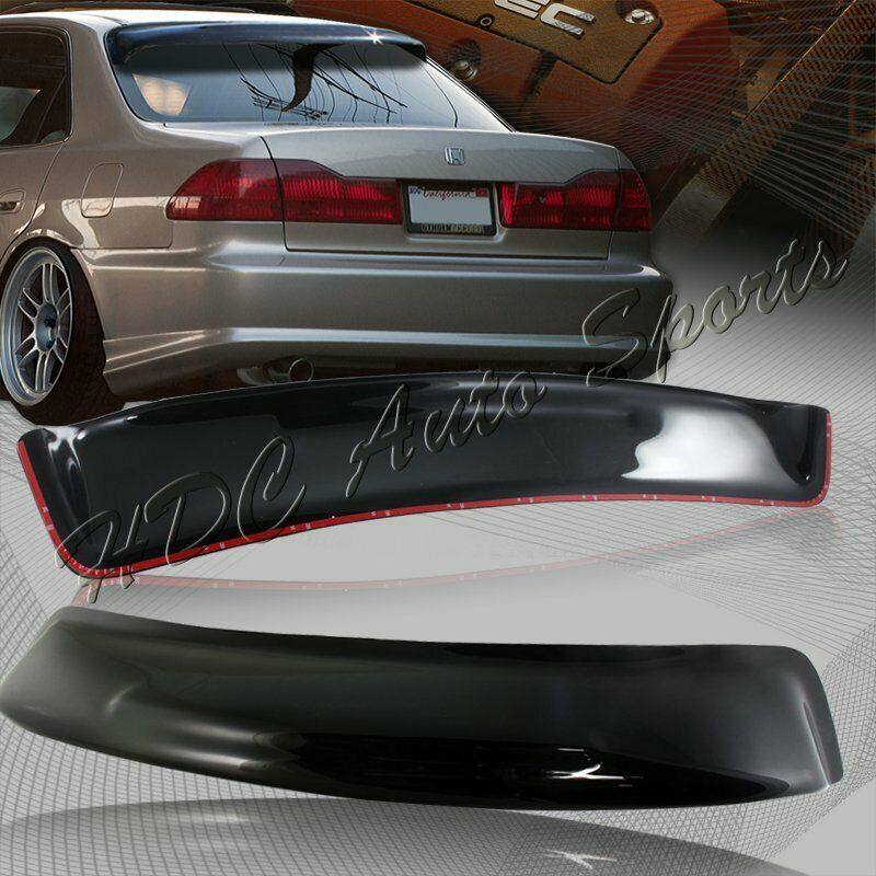 For honda accord dx lx ex sedan abs black rear roof for 2000 honda civic rear window visor