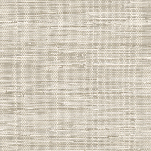 White Grasscloth Wallpaper: Beige And Grey Faux Grasscloth Wallpaper PA34210