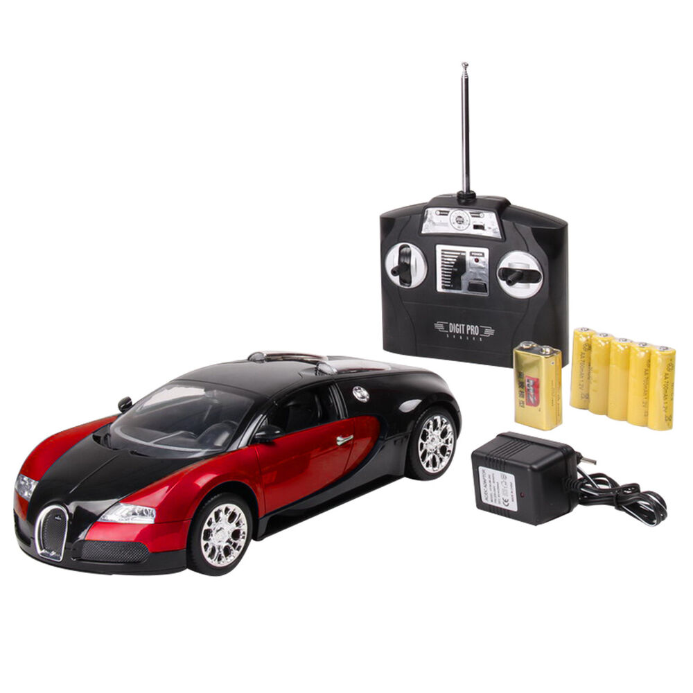1 14 bugatti veyron 16 4 grand sport car radio remote control rc car red new ebay. Black Bedroom Furniture Sets. Home Design Ideas