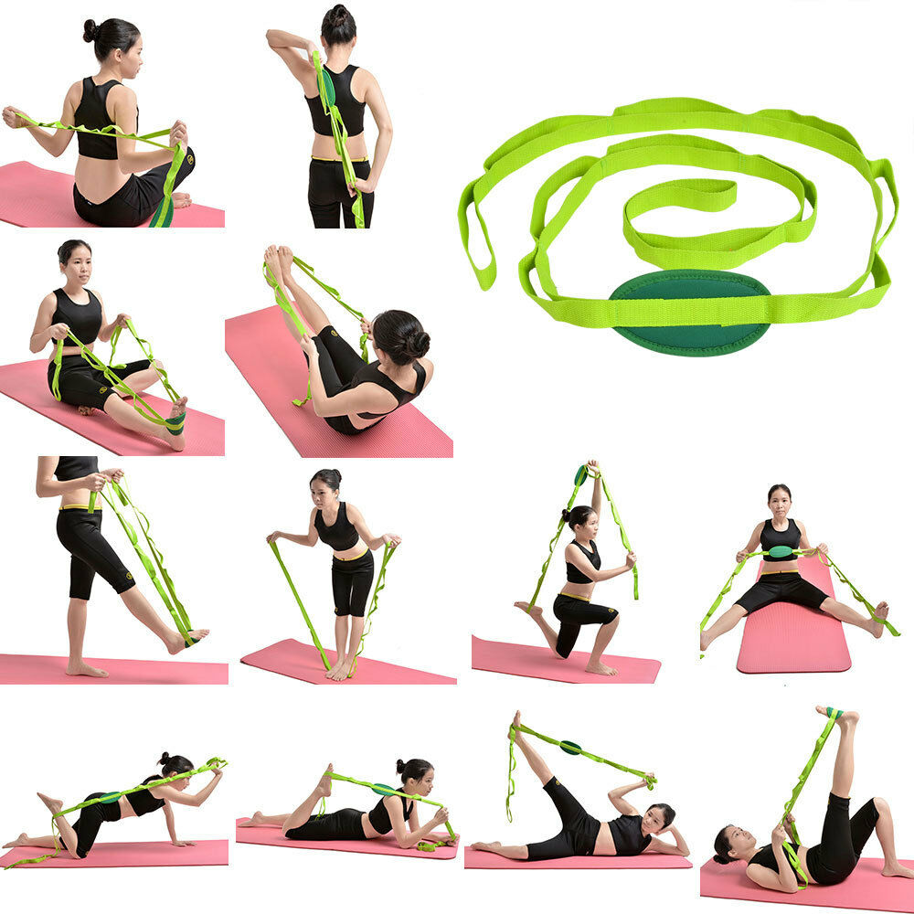 Restore Multi Grip Flexibility Stretch Strap Yoga