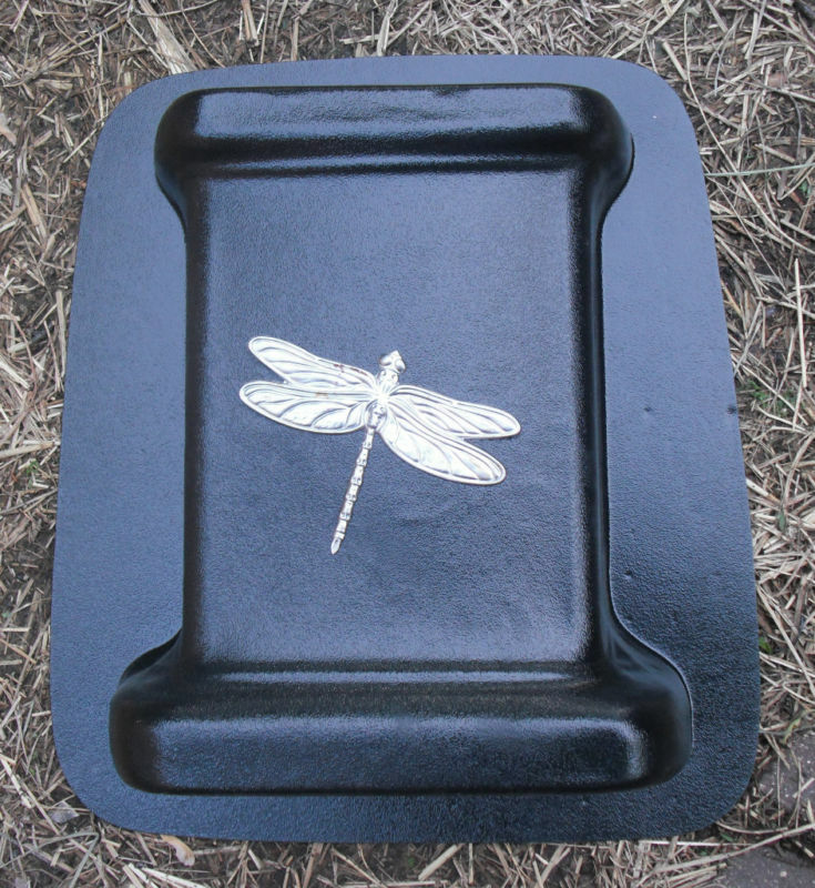 Gostatue Dragonfly Bench Leg Plastic Mold Concrete Mold